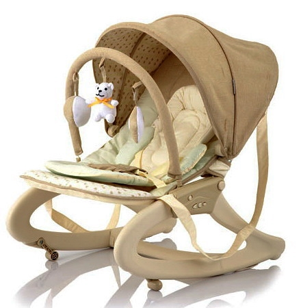 Шезлонг для новорожденных Jetem Premium